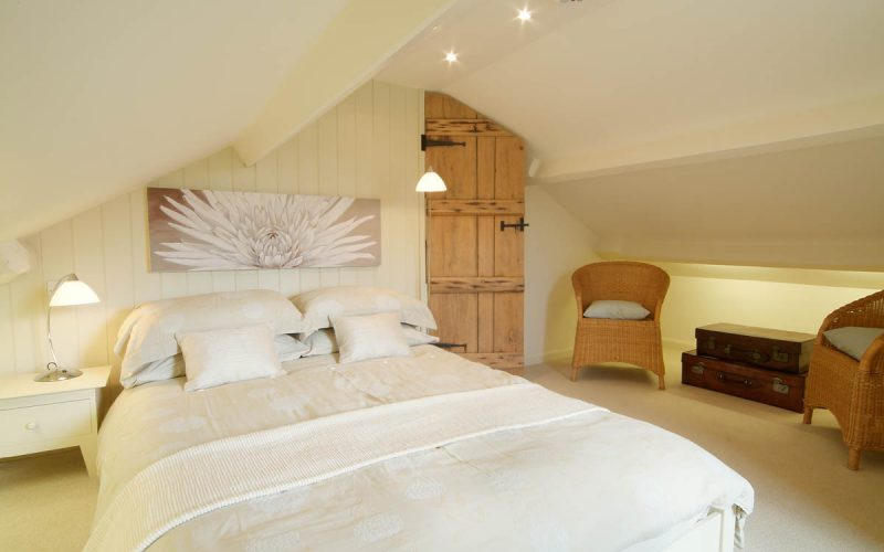 Barnhowe, Elterwater, Upper Double Bedroom