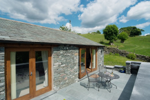 Damson View, Little Langdale, Patio 02