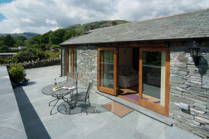 Damson View, Little Langdale, Patio 03