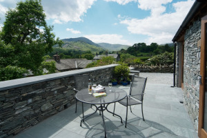 Damson View, Little Langdale, Patio 04