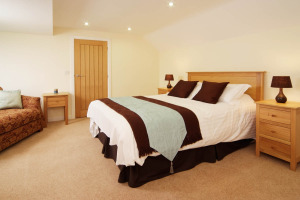 Lang Parrock, Little Langdale, Double Bedroom