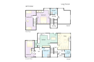 Lang Parrock, Little Langdale, Floorplan
