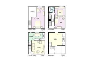 Myrtle Cottage, Chapel Stile, Floorplan