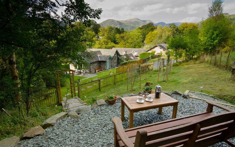 Overbeck, Ambleside, Upper Seating Area