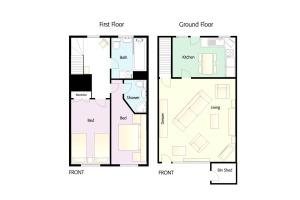 Pippins, Elterwater, Floorplan