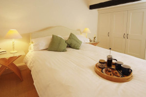 Priest End, Chapel Stile, Double Bedroom