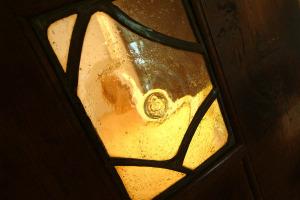 Priest End, Chapel Stile, Door Detail 02