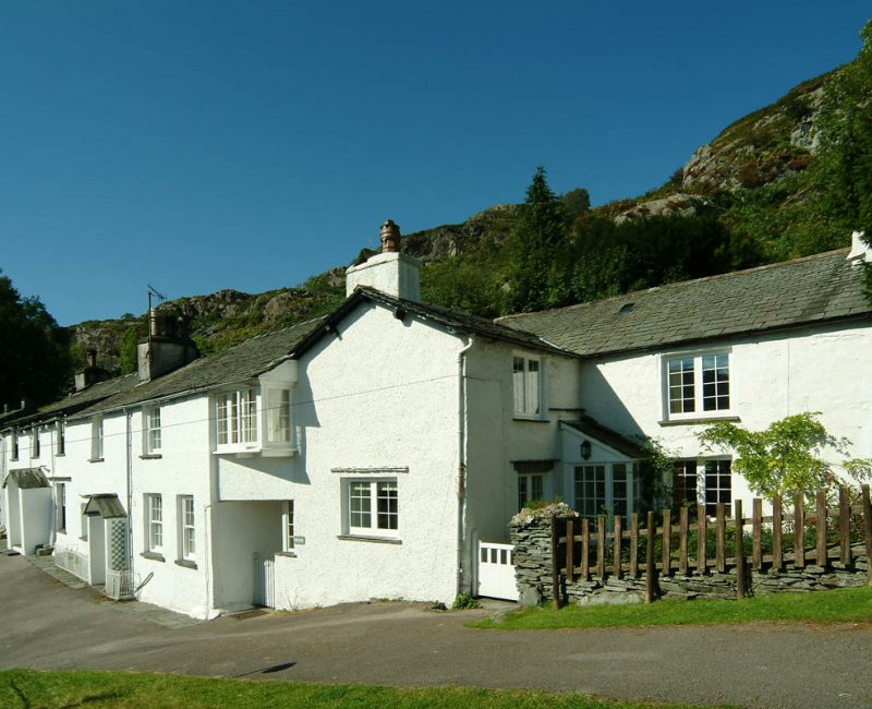 Priest End, Chapel Stile, Exterior