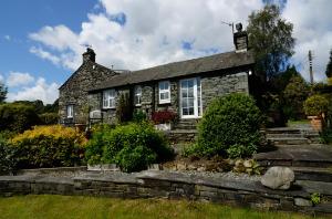 Rosegate Cottage, Elterwater*, Garden