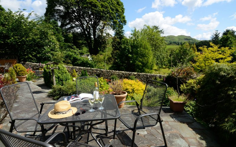 Rosegate Cottage, Elterwater, Patio