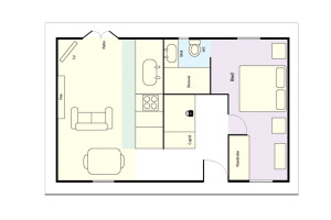 Rosegate Cottage, Elterwater, Floorplan