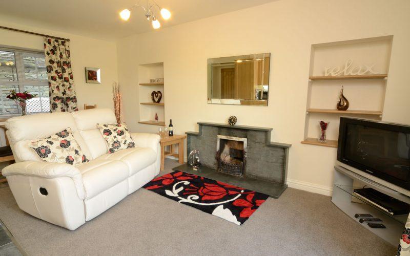 Rosegate Cottage, Elterwater, Lounge