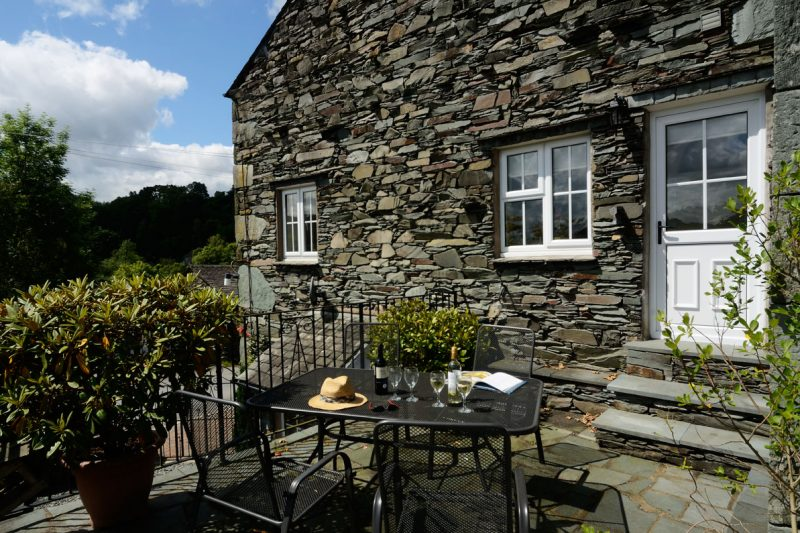 Rosegate House, Elterwater, Patio
