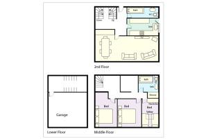 Rosegate House, Elterwater, Floorplan