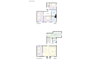 Stickle Cottage, Great Langdale, Floorplan