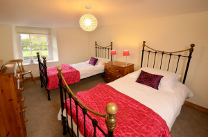 Stickle Cottage, Great Langdale, Twin Bedroom