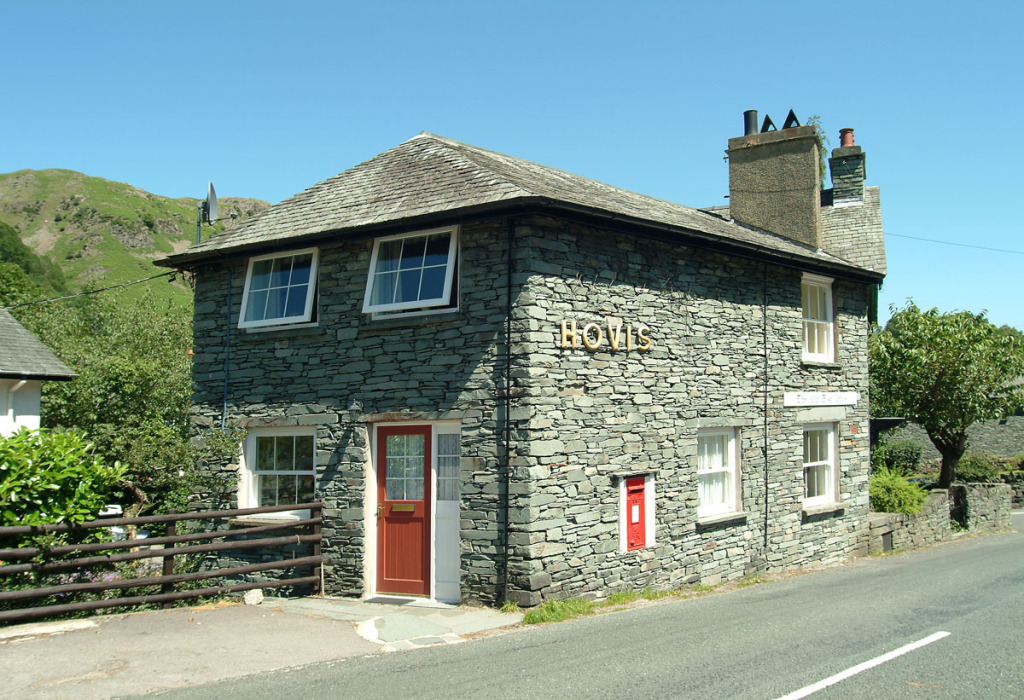 The Old Post Office, Chapel Stile, Exterior