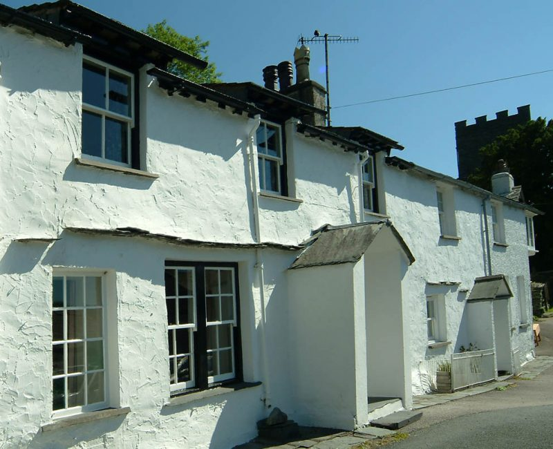 The Old White Lion, Chapel Stile, Exterior