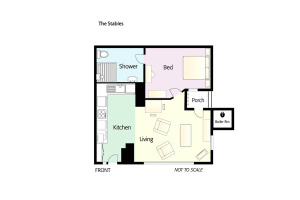 The Stables (Rosegate), Elterwater, Floorplan