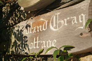 Woodland Crag, Grasmere, Exterior, Sign