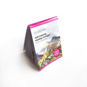 folded map brochure