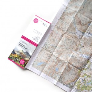 map brochure opened out