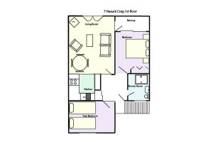 The Coach House at Neaum Crag, Floorplan