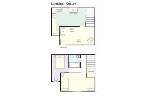 Langstrath Cottage, Chapel Stile, Floorplan